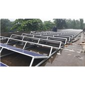 BALLAST TYPE SOLAR MOUNTING STRUCTURE