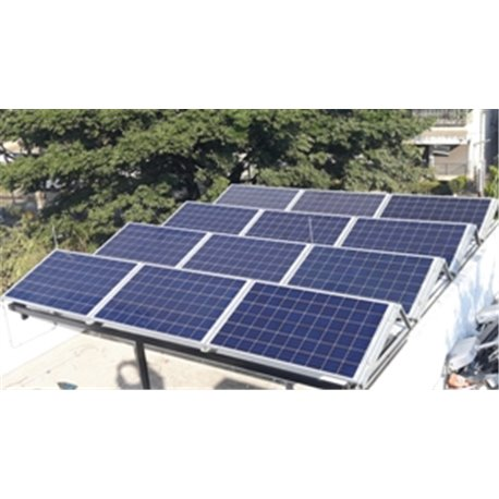Solar roofing singles