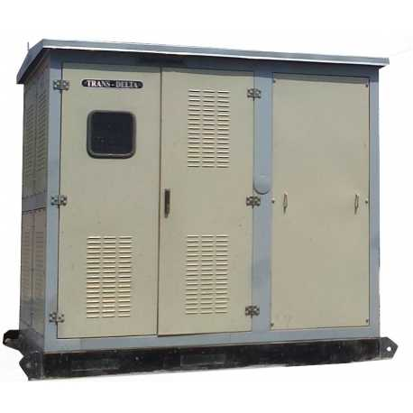 315KVA,11KV, COMPACT SUBSTATION WITH OLTC &  WITHOUT HT METERING